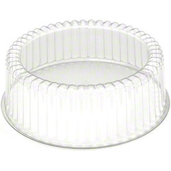 """PWP Fluted Dome w/Base For 9"""" Cake - 5"""" Tall"""