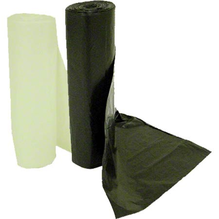 IPS Industries High Density Liner -38 x 60, 22 mic, Black