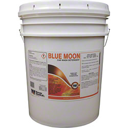 Warsaw Blue Moon Universal Carwash Liquid - 5 Gal.