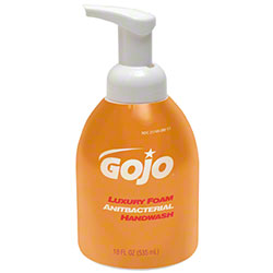 GOJO® Luxury Foam Antibacterial Handwash - 535 mL Pump