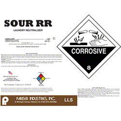 Pariser Sour RR Neutralizing Rust Remover - 15 Gal.