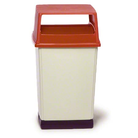 Glutton® Container - 56 Gal., Brown