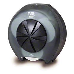 PRO-LINK® Elite™ 3 Roll Tissue Dispenser - Black Trans.