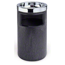 Rubbermaid® Classic Ash/Trash Smoking Urn -  Black