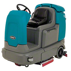 "Tennant T12 Compact Battery Rider Scrubber - 32"", Disk"