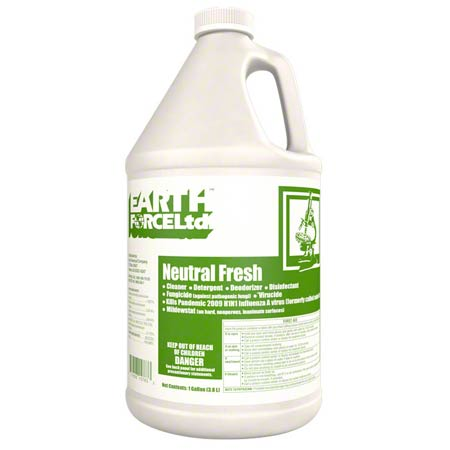 Earth Force® Neutral Fresh Disinfectant Cleaner - Gal.
