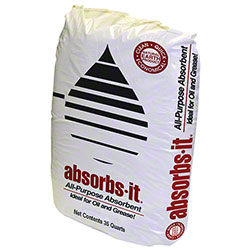 Oil-Dri® Absorbs-it® Granular Absorbent -35 Qt. Poly Bag