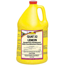 Simoniz® Quat 32 Lemon Disinfectant & Odor Counteractant