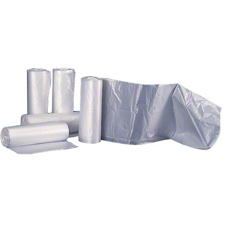 Colonial Bag Coreless Roll - 38 x 58, 17 mic, Clear