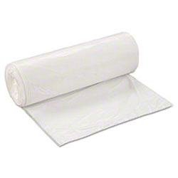 PRO-BRANDS Low Density Can Liner - 24 x 32, .45 mil, White