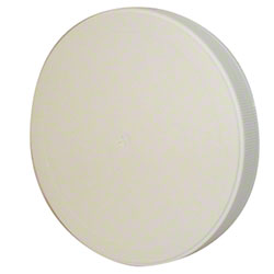 All American Containers 110 mm White Lid