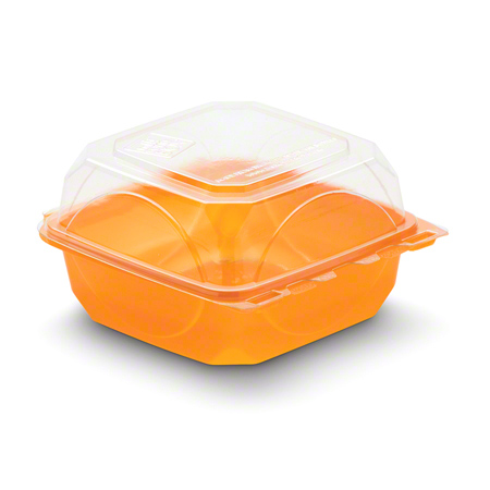 BOTTLEBOX® Colored One-Piece Container - 6 x 6, Tangerine