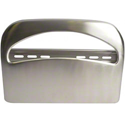 Janico 1/2 Fold Toilet Seat Cover Dispenser - Chrome