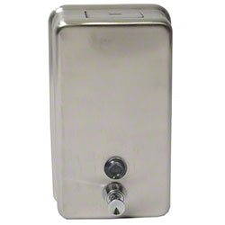 Janico Vertical Soap Dispenser - Stainless Steel