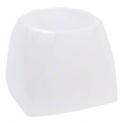 Janico White Bowl Brush Caddy