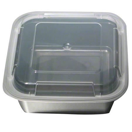 NEWSPRING® VERSAtainer® Square Container - 36 oz., Black