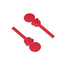 Royal Circle Beverage Plug - Red