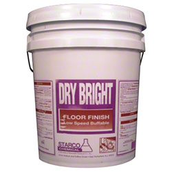 Starco Dry Bright Floor Finish 18% - 5 Gal.