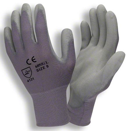 Cordova™ 13 Gauge Gray Coated Machine Knit Glove - Large