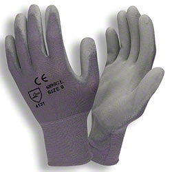 Cordova™ 13 Gauge Gray Coated Machine Knit Gloves