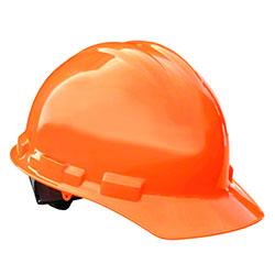 Radians® Granite Cap Style Hard Hat-6 pt. Ratchet,OrangeHV