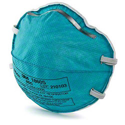 3M™ Health Care Particulate Respirator & Surgical Mask 1860S, N95 - Small
