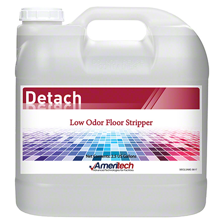 Ameritech Detach Low Odor Floor Stripper - 2.5 Gal.