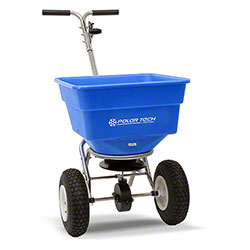 100 Lb. Ice Melt Push Spreader Combo