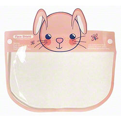 Child Size Bunny Face Design Face Shield
