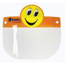Child Size Smiley Face Design Face Shield