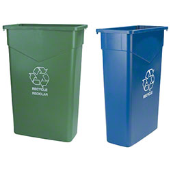 Carlisle Trimline™ Recycle Cans