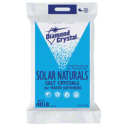 Diamond Crystal® Solar Naturals™ Salt Crystals - 40 lb.