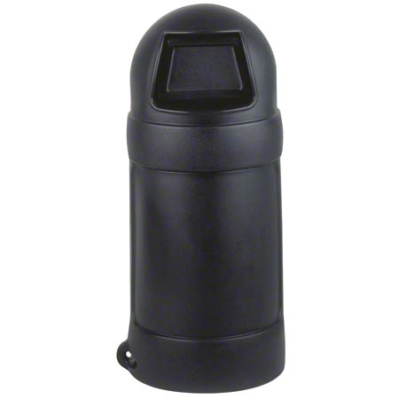 Continental Roun'Top™ Receptacle - 18 Gal., Black
