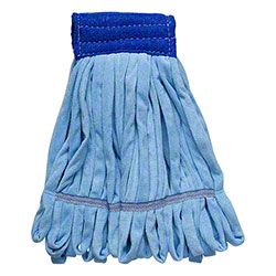 Microfiber & More Microfiber Tube Mop - Medium, Blue