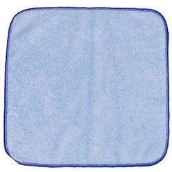 "Microfiber & More 12"" x 12"" Microfiber Cloth - Blue"