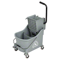 Microfiber & More Divided Bucket w/Side Press