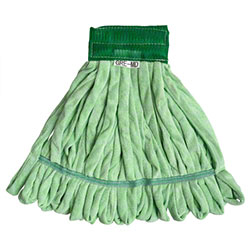 Microfiber & More Microfiber Tube Mop - Medium, Green