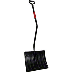 "Poly Blade Snow Shovel - 18"" x 14"""