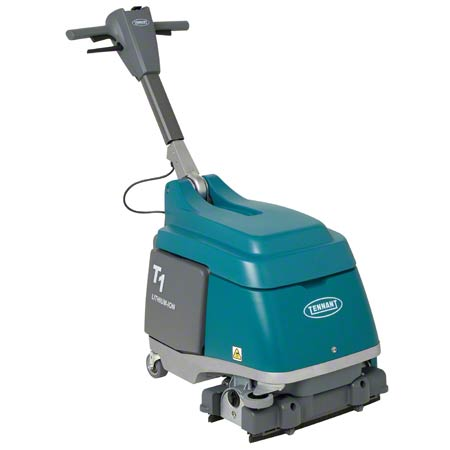 "Tennant T1 Battery Micro-Scrubber - 15"", Lithium-Ion Battery"
