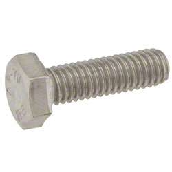 Tennant Screw, Hex, M6 x 1.00 x 20, SS
