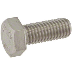 Tennant Screw, Hex, M8 x 1.25 x 20, SS
