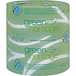 "Green® Heritage Pro 2-Ply Bathroom Tissue - 4.3"" x 3.5"""