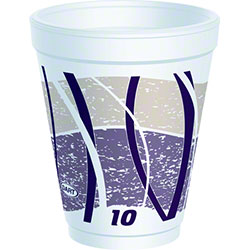 Dart® Impulse® Foam Cups - 10 oz.