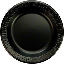 """Dart® Quiet Classic® Plate - 10 1/4"""", Black"""
