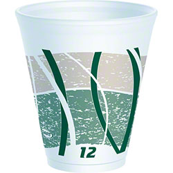 Dart® Impulse® LX® Foam Cups - 12 oz.