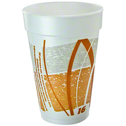 Dart® Impulse® Foam Cups - 16 oz.