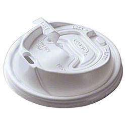 Dart® Optima™ Reclosable Lid - White