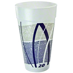 Dart® Impulse® Foam Cups - 20 oz.