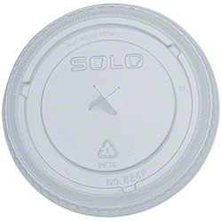 Solo® Clear Lid w/Straw Slot For Y12S and Y14 Cups