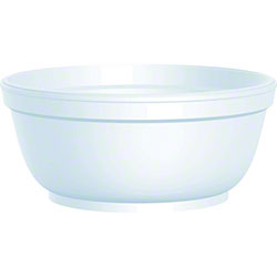 Dart® Foam Bowl - 8 oz.